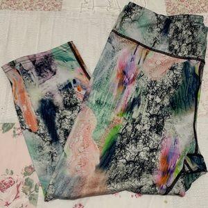 Pants - TAKE 50% OFF Graffiti Athletic crop leggings